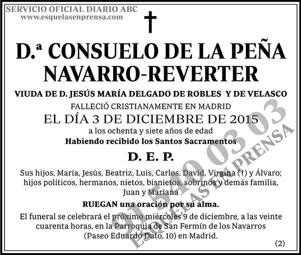 Consuelo de la Peña Navarro-Reverter